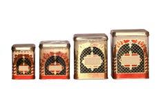 Container voor opslag van los levensmiddel Royalty-vrije Stock Foto's