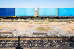 Container wagon Royalty Free Stock Photography