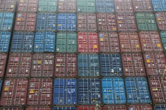 Container wall Stock Photography