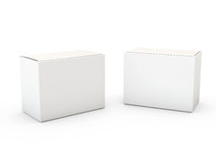 Container on White Royalty Free Stock Photo