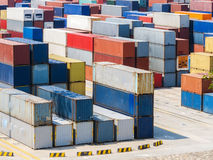 Container Yard Stock Images