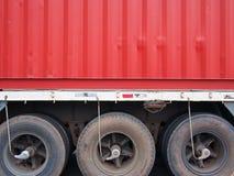 Containerfahrzeug lizenzfreie stockfotos