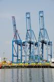 Containerhafen Stockfoto
