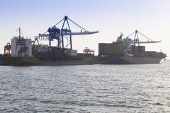 Containerhaven Stock Afbeelding