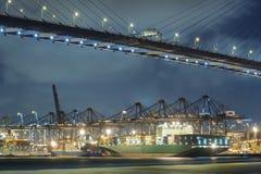 Containerhaven Stock Foto's