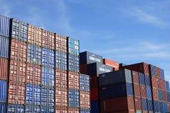 Containerhaven Stock Fotografie