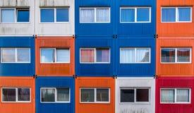 Containerhuizen Stock Afbeeldingen