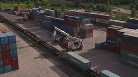 containers stock videobeelden