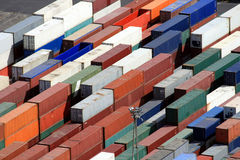 Containers Stock Foto