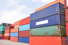 Containers Royalty Free Stock Photos