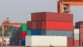 Containers Royalty-vrije Stock Foto