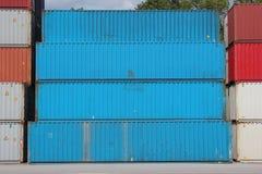 Containers Stock Afbeeldingen