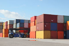 Containers Stock Afbeelding