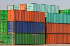 Containers Royalty-vrije Stock Afbeelding