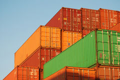 Containers Royalty Free Stock Image