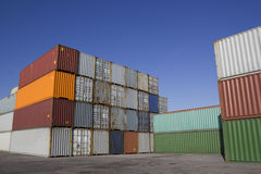 containers Royalty-vrije Stock Fotografie