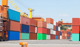 containers Stock Foto's