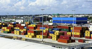 Containers Stock Image