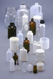 Containers Bottles and Jars Stock Images