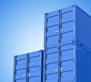 The containers Stock Photo