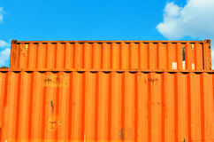 Containers. Port of Genoa, Italy Stock Photography