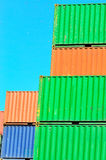 Containers, port Royalty Free Stock Photos