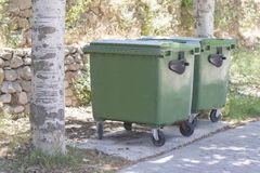 Containers. Royalty Free Stock Image