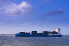 Containers ship Royalty Free Stock Photography