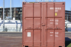 Containers shipping Stock Photos
