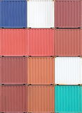 Containers shipping Royalty Free Stock Photos