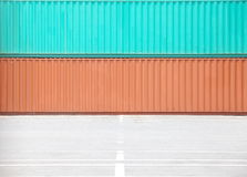 Containers shipping Royalty Free Stock Photography