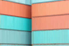 Containers shipping Stock Photo