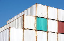 Containers shipping Royalty Free Stock Image
