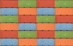 Containers shipping Stock Images