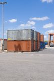 Containers stack II Stock Photo