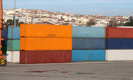 Containers Royalty Free Stock Images