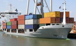 Containerschiff Lizenzfreie Stockfotografie