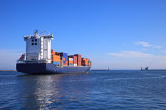 Containerschiff Stockbild