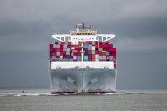 Containerschiff Stockbild