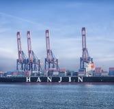 Containerschiff Lizenzfreies Stockfoto