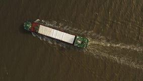 Containerschiff im Export und im Import Fracht der internationalen Schifffahrt stock video footage