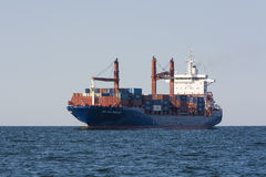 Containerschiff Rio Sao Francisco Stockfotografie