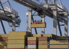 Containerschiffe Stockfoto
