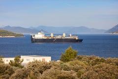 Containerschiffe Lizenzfreie Stockbilder