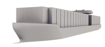 Containerschip Stock Foto