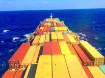 Containerschip Royalty-vrije Stock Fotografie