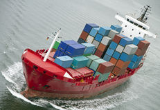Containership Imagem de Stock Royalty Free
