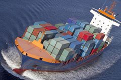 Containership Royalty Free Stock Photo