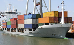 Containership royalty free stock photography