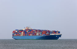 containership Arkivbilder